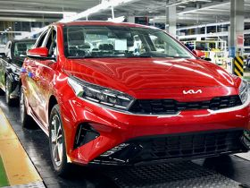 На заводе АВТОТОР освоено производство обновленной модели седана Kia Cerato