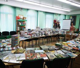 Основатель АВТОТОР подарил Православной гимназии Калининграда коллекцию книг из 1200 томов