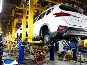 В Калининграде начали выпуск нового Hyundai Santa Fe