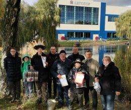 Осенний турнир по ловле хищной рыбы на озере завода АВТОТОР стал традиционным