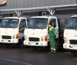 МБУ «Чистота» г. Калининграда переданы автомобили Hyundai HD 35С, произведенные на АВТОТОР