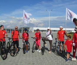 АВТОТОР поддержал благотворительный велозабег «Делай на вело доброе дело»