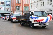Администрация Калининграда закупили 9 самосвалов HYUNDAI для МБУ «Чистота»